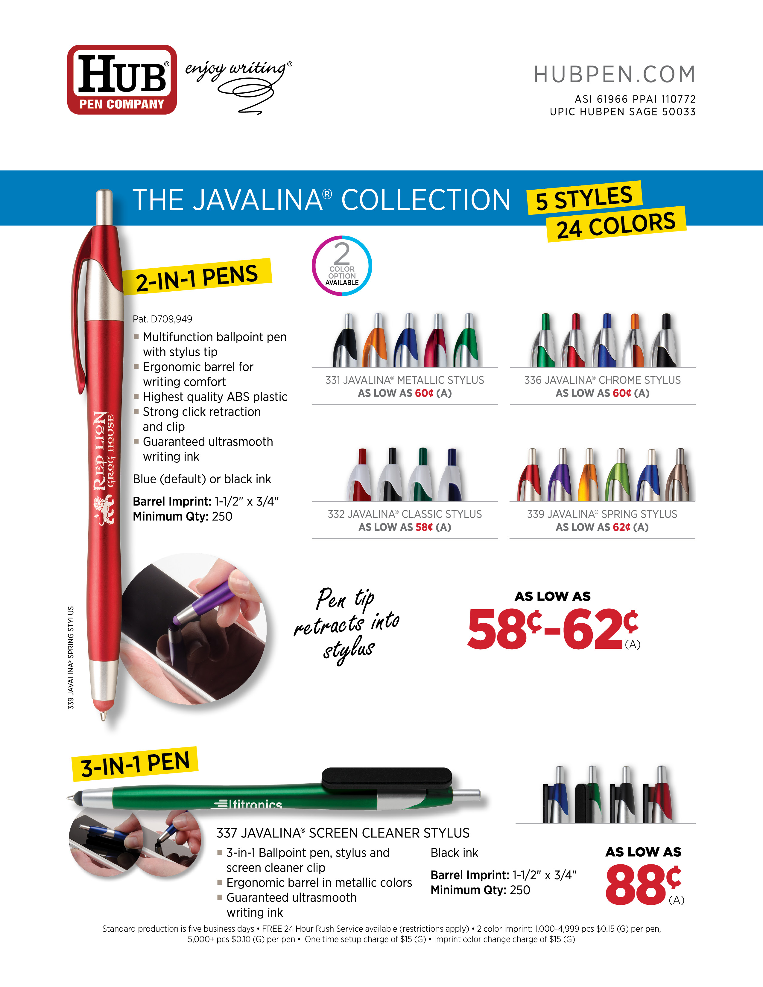 javalina multifunction flyer jpg multifunction pens middot